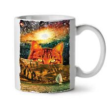 Wild Cat Wilderness Giant Kitty NEW White Tea Coffee Mug 11 oz | Wellcoda