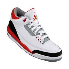 834014-161 Nike Air Jordan III 3 Retro Fire Red Cement GS Bid Kids 2007 Release