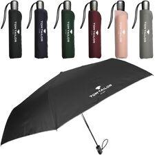 TOM TAILOR Damen Herren Regenschirm Schirm Taschenschirm Doppel Automatik NEU