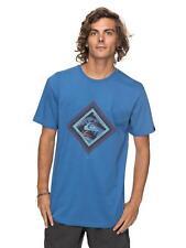 Quiksilver Herren T-Shirt Classic Crimson Skyline (Bright Cobalt)
