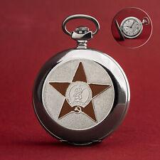 Taschenuhr MOLNIJA 3602 - Hammer und Sichel STERN - russiche Uhr