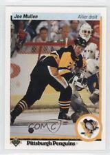 1990-91 Upper Deck French #423 Joe Mullen Pittsburgh Penguins Hockey Card