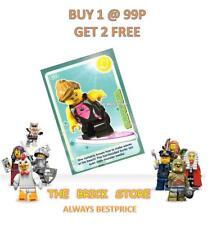 Lego #024 - Surfer Girl-créer le monde Trading Card-bestprice + cadeau-NEUF