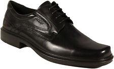 ECCO man shoes model HELSINKI lace black leather NEW