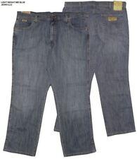 WRANGLER Extra Alto TEXAS estiramiento lavado Vaqueros azules (con forro )