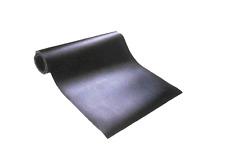 """EPDM Rubber Sheet, Black, 1/4"""" x 36"""" Wide x Pick Length in Feet"""