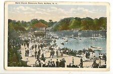 Band Stand Delaware Park Buffalo NY New York Postcard