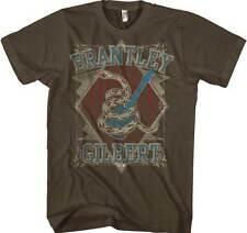 BRANTLEY GILBERT - Snake - T SHIRT S-M-L-XL-2XL Brand New Official T Shirt