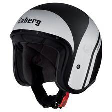 Caberg Freeride Mistral Matt negro/blanco Moto Casco de motocicleta de cara abierta