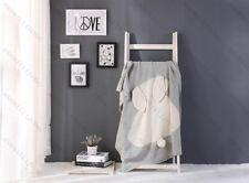 Little Bunny - 100% Premium Cotton Kids Knit Blanket/Throw