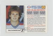 1983-84 ESSO Hockey Stars TV Cash Game #DAHA Dale Hawerchuk Winnipeg Jets Card