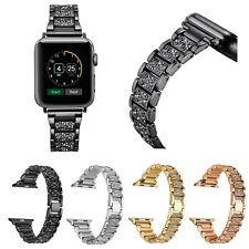 Luxury Bling Link Bracelet Strap for Apple Watch Series 3 2 1 Wrist Band 38/42mm