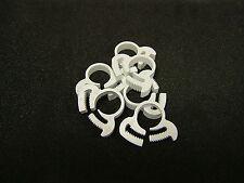 Herbie clip collier serrage-taille cc blanc 11.1 - 12.9mm (5)