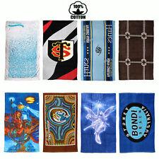 8 Designs Choice - 100% COTTON Velour Beach Bath Towel LARGE 75cm x 150cm