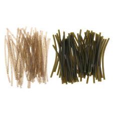 50pcs Rubber Anti-corrision Carp Fishing Rig Tubes Sleeve Rig Tubing Tackle