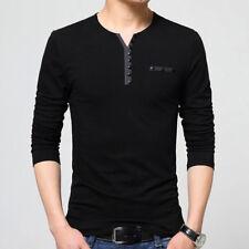 Mens Tshirts Slim Fit Long Sleeve T-Shirts Stylish Luxury Men T Shirt Tops Tee