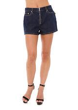 Bettina Liano Ladies Isko Shorts with Zip sizes 28 29 Colour Denim