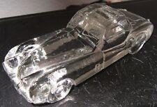 JAGUAR Sportwagen VITRINENOBJEKT Glas Briefbeschwerer Büroartikel Dekoration gut