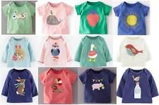 Baby Boden Apliques De Algodón Camiseta Top De Retazos Animales Nuevo 0 meses -3 años Niñas