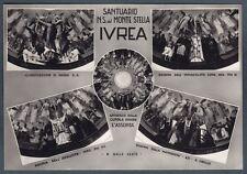 TORINO IVREA 74 SANTUARIO - RELIGIONE - DOGMA PIO XII Cartolina