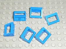 Blue tile with handle LEGO ref 2432 / Sets 4483 6543 3742 7664 7897 7161 6598 ..