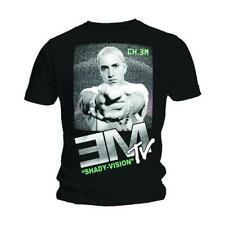 EMINEM EM-TV SHADY VISION OFFICIALLY LICENSED SLIM SHADY ADULT UNISEX T-SHIRT