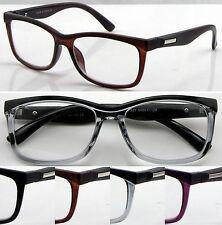 L427 Excelente Calidad Clásico Gafas de Lectura Diseño De Cejas Y Mate Super De Moda