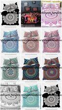 Indian Cotton Mandala Double Queen Size Bed Quilt Cover/Duvet Doona Cover Boho