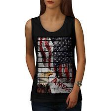 American Eagle Flag USA Women Tank Top NEW | Wellcoda