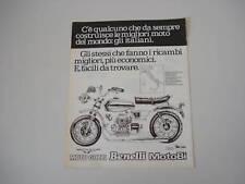advertising Pubblicità 1976 MOTO GUZZI/BENELLI/MOTOBI