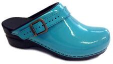 Sanita 'Freya Patent' Flexible Patent Clogs (Art: 457548) - Turquoise