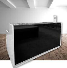 Roma Glass Reception Counter Reception Desk Office Desk Furniture