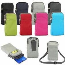 Gürtel-Tasche Handy-Tasche #G38 180x110x35mm Nylon Umhängetasche Umhängen klein