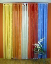 Schlaufenschal Set Jacquard Blume Vorhang Garnitur