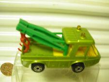 LESNEY MATCHBOX 1972 MB74 GREEN TOE JOE GREEN BOOMS 5 ARCH WHEELS MINT PlstBOX*