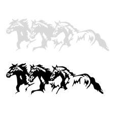 Running Horses Car Vehicle Self-Adhesive Sticker Waterproof Decal Decor