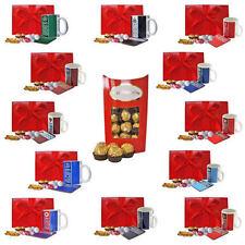 Father's Day Gift Box Football Mug Coaster Ferrero Rocher box for Him Dad Daddy