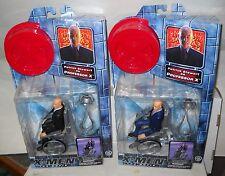 #5054 NRFB Toy Biz X-Men - 2 Versions Professor X Movie Figures Patrick Stewart