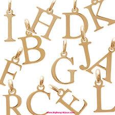 Pendentifs Femme Lettres Plaqué Or 18 carats - 2A875A00F - BigBang-Bijoux.com