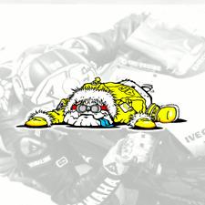 Valentino Rossi Sticker GUIDO Dog Vinyl decal #6 motogp Bulldog