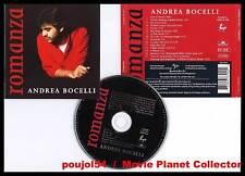 """ANDREA BOCELLI """"Romanza"""" (CD) 15 titres 1996"""