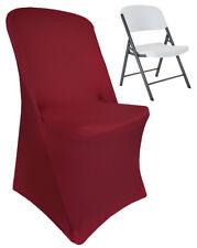 Wedding Linens Inc. Lifetime Folding Spandex Stretch Lycra Chair Covers