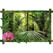 Sticker Bambou déco forêt986