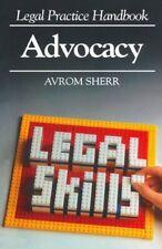 Advocacy (Legal Practice Handbooks), Sherr, Avrom Paperback Book The Cheap Fast