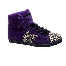 Macbeth Mujer Nolan leopardo morado/Cassadee Pope para mujeres Zapatos de Skate