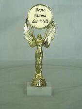 POKAL  Siegesgöttin   inkl. Gravur  -Beste Mama, Oma der Welt oder Wunschtext