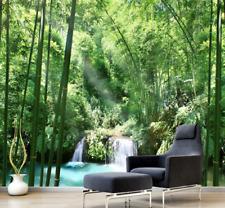 3D Bamboo Leaf 669 Wallpaper Murals Wall Print Wallpaper Mural AJ WALL AU Kyra