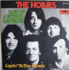 "7"" 1974! THE HOLLIES : Son Of A Rotten Gambler // VG \"