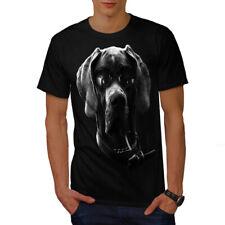 Wellcoda Swag Great Dane Dog Mens T-shirt, Bad Boy Graphic Design Printed Tee