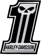 HARLEY DAVIDSON GENUINE NO 1 SKULL  PATCH